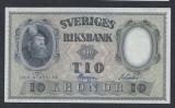 A5145 Sweden Suedia 10 kronor 1959 SEMNATURI DIFERITE UNC