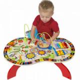 Busy Table - Masuta interactiva cu activitati pentru copii.