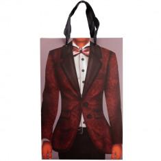 Punga pentru cadouri costum Arti Casa, 33.5x22.5x10 cm, Multicolor