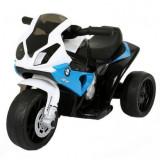 Motocicleta electrică BMW S1000R mini albastru