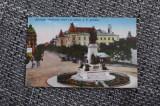 AKVDE19 - Vedere - Bucuresti - bulevardul Carol si Statuia I C Bratianu