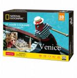 Cumpara ieftin Puzzle 3D + Brosura Piata San Marco, 107 piese, CubicFun