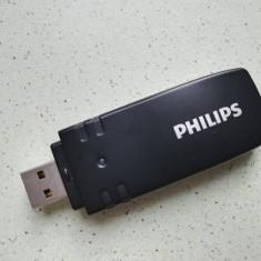 Adaptor USB Wireless Philips TV - PTA01 /00, tv Phillips smart cu wireless ready