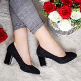 Pantofi Pisoma negri eleganti -rl