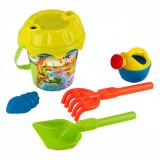 Galetusa cu unelte pentru nisip, model animals, 6 buc, multicolor