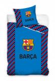 Lenjerie pat FC Barcelona, 2 piese, 160x200