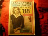Almanah Convorbiri Literare 1988 , 318 pag , ilustratii , portret Ceausescu