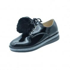 Pantofi eleganti fetite MRS R1626N, Negru