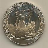 BULGARIA  2  LEVA  1981 - Aniversare 1300  ANI - The LIBERATION , PROOF - KM 129
