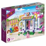 Jucarie constructii tip lego Cafeneaua fetelor Trendy City 6115 BanBao
