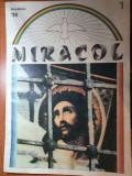 Revista miracol decembrie 1990 - anul 1,nr. 1-prima paritie-martirii revolutiei