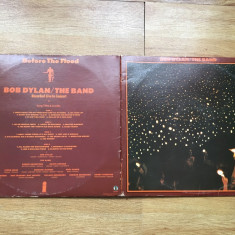 BOB DYLAN - BEFORE THE FLOOD (2LP,2 viniluri,1974,ISLAND,UK) vinil vinyl