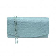 Geanta dama plic T&L 0221A, Argintiu