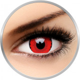 Crazy Zarathos - lentile de contact colorate rosii anuale - 360 purtari (2 lentile/cutie)