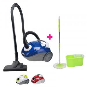 Pachet promoțional curățenie Hausberg, Aspirator + Mop Rotativ 360 grade