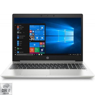 Laptop HP 15.6'' ProBook 450 G7, FHD, Procesor Intel® Core™ i7-10510U (8M Cache, up to 4.90 GHz), 8GB DDR4, 256GB SSD, GMA UHD, Windows 10 Pro, Argint foto