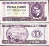 UNGARIA BANCNOTA DE 500 FORINT 1969 UNC ADY ENDRE NECIRCULATA
