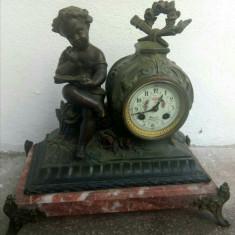 Antic ceas de șemineu sec 19
