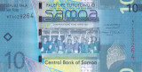 Bancnota Samoa 10 Tala (2008) - P39a UNC