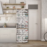 Sticker Tapet Autoadeziv pentru frigider, 210 x 90 cm, KM-FRIDGE-66