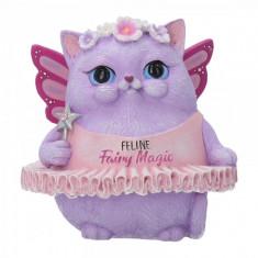 Statueta pisica grasa Magia Felinelor 9 cm