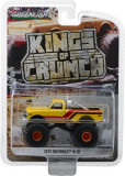 Cumpara ieftin 1972 Chevrolet K-10 Monster Truck - Yellow, Orange, Red and Brown Solid Pack - Kings of Crunch Series 1 1:64