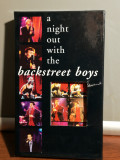 caseta VHS Originala cu BACKSTREET BOYS - A NIGHT....(1998/JIVE/GERMANY) -