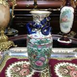 Cumpara ieftin Vaza Chinezeasca model Floral cu Dragoni