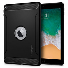 Husa Spigen Rugged Armor iPad 9.7 inch (2017/2018) Negru