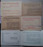6 invitații ARLUS - Prietenia româno - sovietică, anii 1950