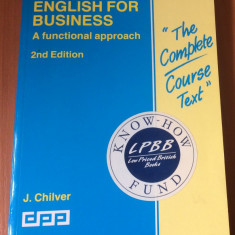 English For Business, A Functional Approach - J. Chilver ( The Complete Course )