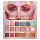 Cumpara ieftin Paleta Profesionala de Farduri Iman Of Noble, 18 Color Eyeshadow Palette, 18 x 1 g