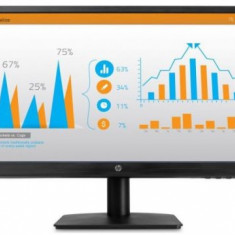 Monitor TN LED HP 21.5inch N223, Full HD (1920 x 1080), VGA, HDMI (Negru)