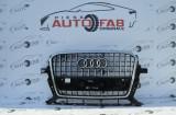 Grilă centrală Audi Q5 Facelift an 2012-2016 găuri pentru parktronic