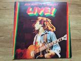 BOB MARLEY - LIVE (1975,ISLAND,USA) vinil vinyl
