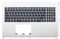 Palmrest laptop carcasa superioara cu tastatura Asus X550C US culoare alba foto