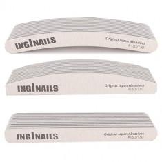 Set de pile pentru unghii 3x10bucăți - 150/150