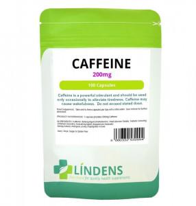 Lindens Cafeină 200mg 100 Capsule