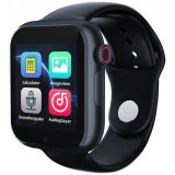 Cumpara ieftin Ceas Smartwatch cu telefon iUni Z6S, Touchscreen, Bluetooth, Notificari, Camera, Pedometru, Black