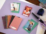 Autocolante Polaroid distractive ?i decorative pentru hartie zink 2x3