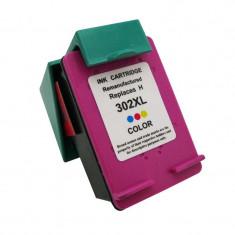 Cartus compatibil remanufacturat pentru HP302XL, Color