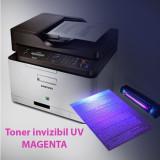 Toner invizibil UV pentru Samsung si Lexmark monocrom, Magenta, praf 50 g