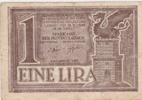 IUGOSLAVIA Liubliana 1 LIRa 1944 F