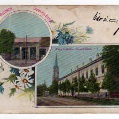 BUZIAS GRAND HOTEL MAGAZINUL SI EDITURA HERRLING KAROLY LITOGRAFIE, Circulata, Printata