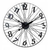 Cumpara ieftin Ceas de perete, roata de bicicleta, metal, 60cm