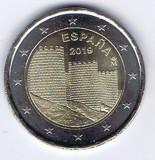 SPANIA moneda de 2 euro comemorativa 2019 - Ávila, UNC