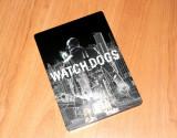 Carcasa de metal - Watch Dogs Steelbook , G1 , foarte rara , pentru colectionari