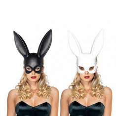 Masca urechi de iepure, negru, Gonga