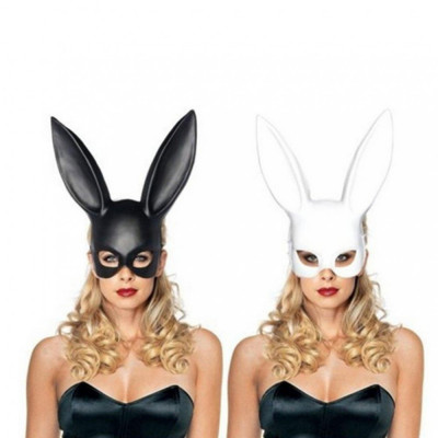 Masca urechi de iepure, alb, Gonga foto