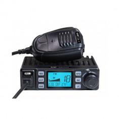 Aproape nou: Statie radio CB CRT XENON cu ASQ, 4W, 12V, Scan, RF Gain, Roger Beep,